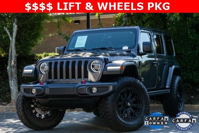 Used 2018 Jeep Wrangler Unlimited Rubicon for sale Sold at Gravity Autos Atlanta in Chamblee GA 30341 1