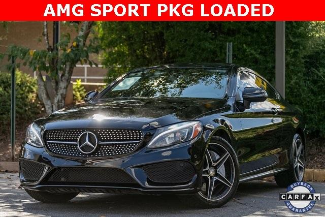 Used 2017 Mercedes-Benz C-Class C 300 for sale $34,495 at Gravity Autos Atlanta in Chamblee GA 30341 1