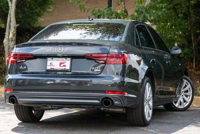 Used 2018 Audi A4 2.0T ultra Premium for sale $27,599 at Gravity Autos Atlanta in Chamblee GA 30341 44