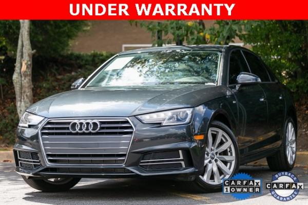 Used Used 2018 Audi A4 2.0T ultra Premium for sale $27,599 at Gravity Autos Atlanta in Chamblee GA