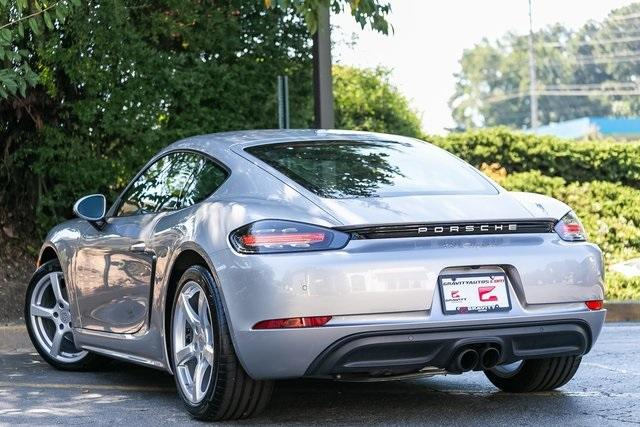 Used 2018 Porsche 718 Cayman Base for sale $60,995 at Gravity Autos Atlanta in Chamblee GA 30341 32