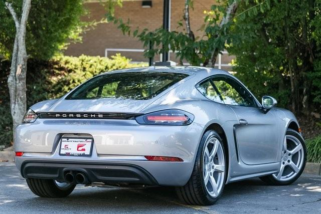Used 2018 Porsche 718 Cayman Base for sale $60,995 at Gravity Autos Atlanta in Chamblee GA 30341 35
