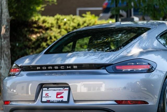 Used 2018 Porsche 718 Cayman Base for sale $60,995 at Gravity Autos Atlanta in Chamblee GA 30341 37