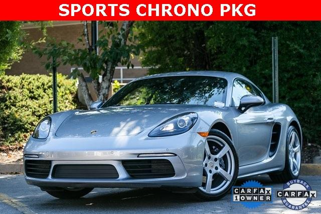 Used 2018 Porsche 718 Cayman Base for sale $60,995 at Gravity Autos Atlanta in Chamblee GA 30341 1