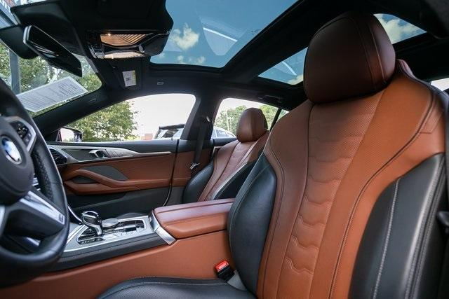 Used 2021 BMW 8 Series M850i xDrive Gran Coupe for sale $104,995 at Gravity Autos Atlanta in Chamblee GA 30341 35