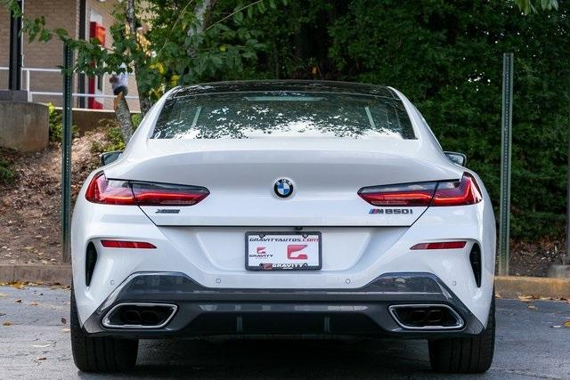 Used 2021 BMW 8 Series M850i xDrive Gran Coupe for sale $104,995 at Gravity Autos Atlanta in Chamblee GA 30341 45