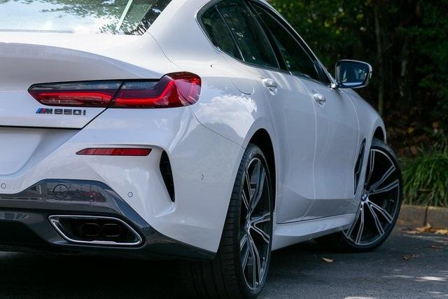 Used 2021 BMW 8 Series M850i xDrive Gran Coupe for sale $104,995 at Gravity Autos Atlanta in Chamblee GA 30341 48