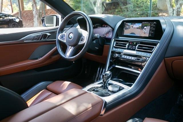 Used 2021 BMW 8 Series M850i xDrive Gran Coupe for sale $104,995 at Gravity Autos Atlanta in Chamblee GA 30341 7