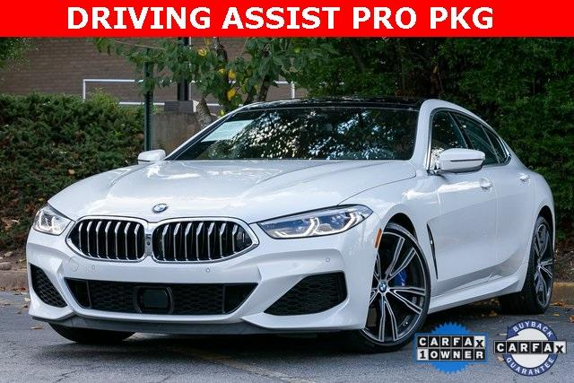 Used 2021 BMW 8 Series M850i xDrive Gran Coupe for sale $104,995 at Gravity Autos Atlanta in Chamblee GA 30341 1