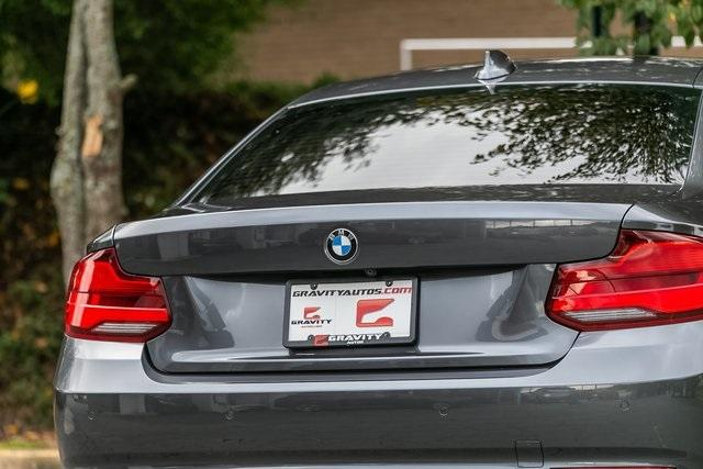 Used 2018 BMW 2 Series 230i for sale $28,795 at Gravity Autos Atlanta in Chamblee GA 30341 42
