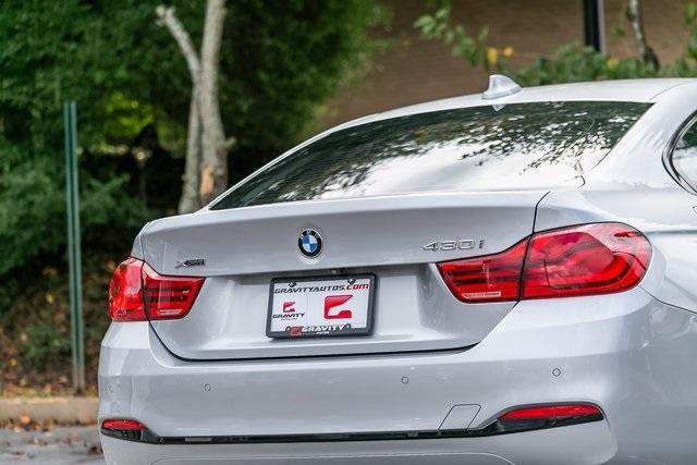 Used 2019 BMW 4 Series 430i xDrive Gran Coupe for sale $34,995 at Gravity Autos Atlanta in Chamblee GA 30341 44