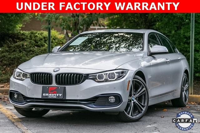 Used 2019 BMW 4 Series 430i xDrive Gran Coupe for sale $34,995 at Gravity Autos Atlanta in Chamblee GA 30341 1