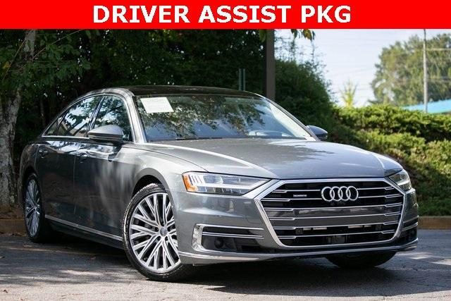 Used 2019 Audi A8 L 55 for sale $59,495 at Gravity Autos Atlanta in Chamblee GA 30341 3