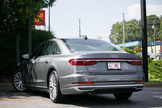 Used 2019 Audi A8 L 55 for sale $59,495 at Gravity Autos Atlanta in Chamblee GA 30341 45