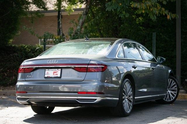 Used 2019 Audi A8 L 55 for sale $59,495 at Gravity Autos Atlanta in Chamblee GA 30341 48