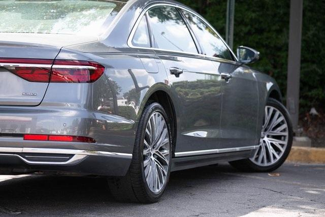 Used 2019 Audi A8 L 55 for sale $59,495 at Gravity Autos Atlanta in Chamblee GA 30341 49