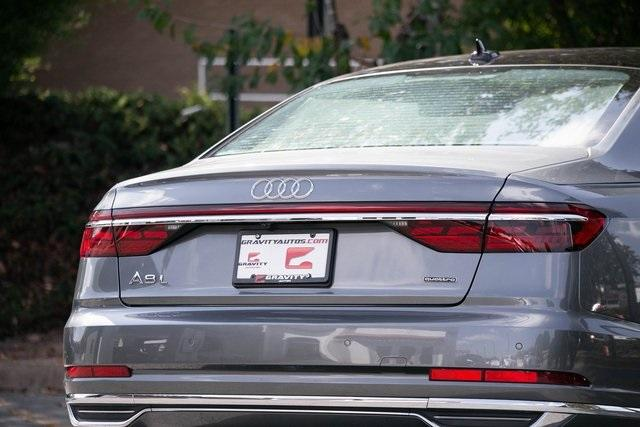 Used 2019 Audi A8 L 55 for sale $59,495 at Gravity Autos Atlanta in Chamblee GA 30341 50