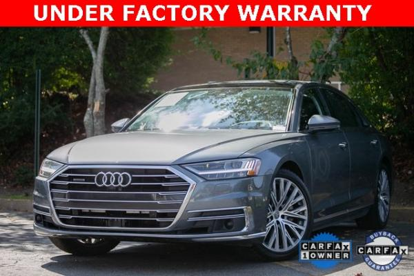 Used Used 2019 Audi A8 L 55 for sale $59,495 at Gravity Autos Atlanta in Chamblee GA