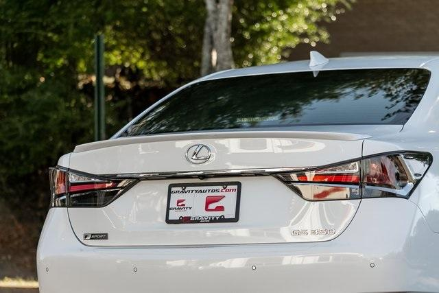 Used 2018 Lexus GS 350 F Sport for sale $40,995 at Gravity Autos Atlanta in Chamblee GA 30341 48