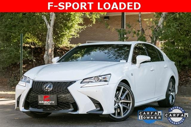 Used 2018 Lexus GS 350 F Sport for sale $40,995 at Gravity Autos Atlanta in Chamblee GA 30341 1