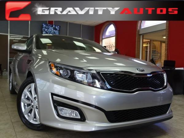 Used 2014 Kia Optima EX for sale Sold at Gravity Autos in Roswell GA 30076 1