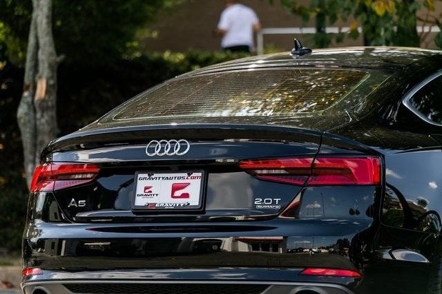 Used 2018 Audi A5 2.0T Premium Plus for sale $37,495 at Gravity Autos Atlanta in Chamblee GA 30341 46