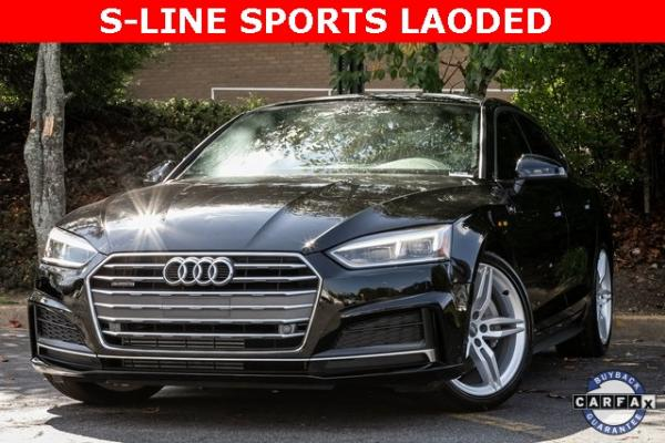 Used Used 2018 Audi A5 2.0T Premium Plus for sale $37,495 at Gravity Autos Atlanta in Chamblee GA