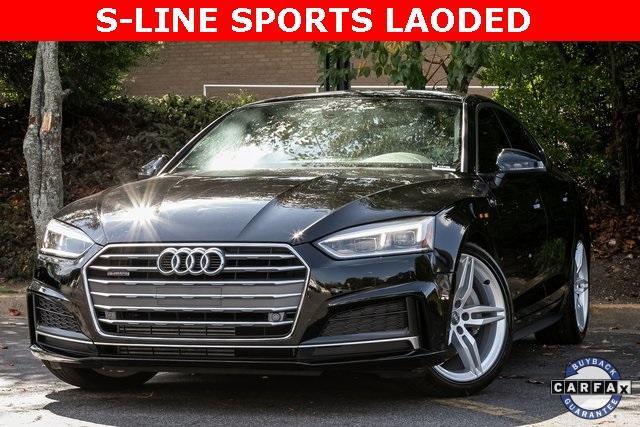 Used 2018 Audi A5 2.0T Premium Plus for sale $37,495 at Gravity Autos Atlanta in Chamblee GA 30341 1