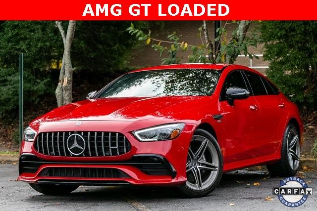 Used 2019 Mercedes-Benz AMG GT 53 Base for sale $102,995 at Gravity Autos Atlanta in Chamblee GA 30341 1