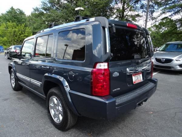 Used 2007 Jeep Commander Limited for sale Sold at Gravity Autos in Roswell GA 30076 4