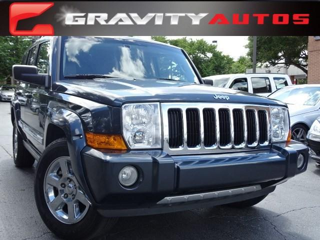Used 2007 Jeep Commander Limited for sale Sold at Gravity Autos in Roswell GA 30076 1