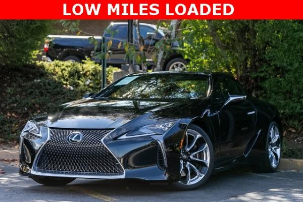 Used Used 2018 Lexus LC 500 for sale $78,899 at Gravity Autos Atlanta in Chamblee GA