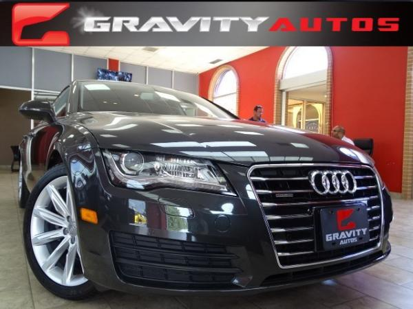 Used 2014 Audi A7 3.0 TDI Premium Plus for sale Sold at Gravity Autos in Roswell GA 30076 1