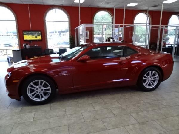 Used 2014 Chevrolet Camaro LS for sale Sold at Gravity Autos in Roswell GA 30076 4