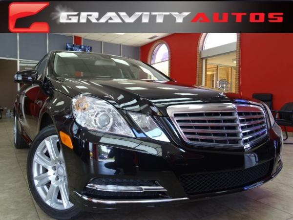 Used 2013 Mercedes-Benz E-Class E350 Luxury for sale Sold at Gravity Autos in Roswell GA 30076 1