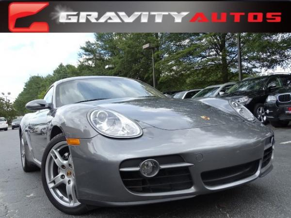 Used 2007 Porsche Cayman for sale Sold at Gravity Autos in Roswell GA 30076 1
