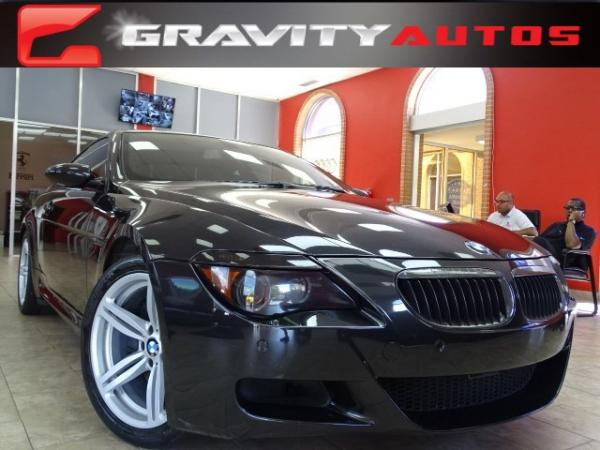 Used 2007 BMW 6 Series M6 for sale Sold at Gravity Autos in Roswell GA 30076 1