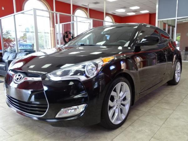 Used 2012 Hyundai Veloster w/Red Int for sale Sold at Gravity Autos in Roswell GA 30076 3