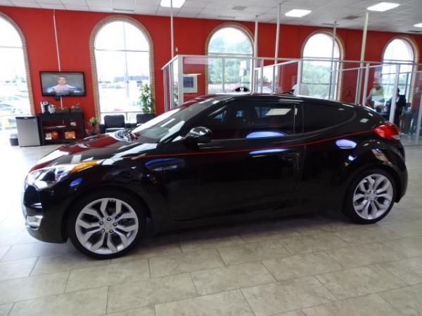 Used 2012 Hyundai Veloster w/Red Int for sale Sold at Gravity Autos in Roswell GA 30076 4
