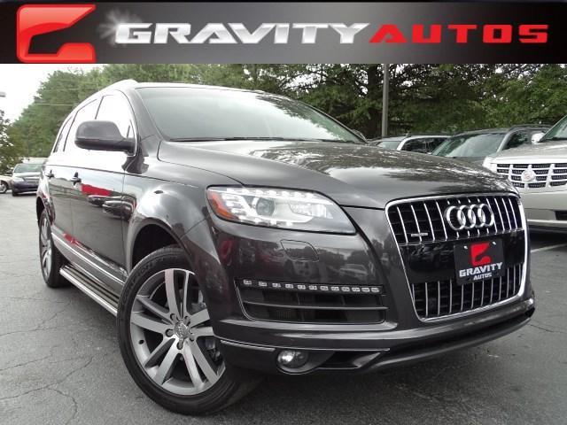 Used 2014 Audi Q7 3.0T Premium Plus for sale Sold at Gravity Autos in Roswell GA 30076 1
