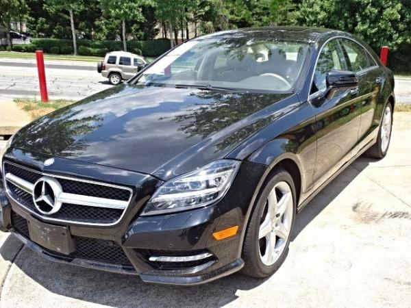 Used 2013 Mercedes-Benz CLS-Class CLS550 for sale Sold at Gravity Autos in Roswell GA 30076 3