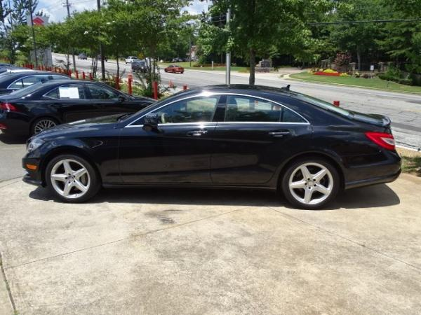 Used 2013 Mercedes-Benz CLS-Class CLS550 for sale Sold at Gravity Autos in Roswell GA 30076 4