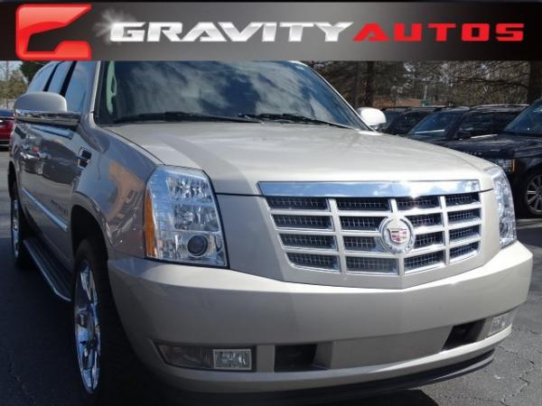 Used 2009 Cadillac Escalade ESV for sale Sold at Gravity Autos in Roswell GA 30076 1