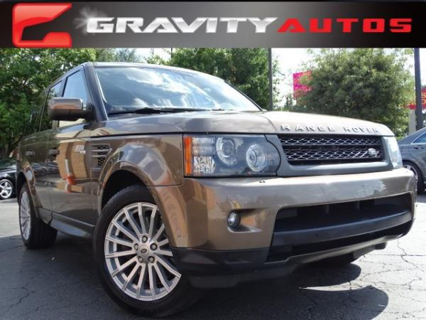 Used 2011 Land Rover Range Rover Sport HSE for sale Sold at Gravity Autos in Roswell GA 30076 1