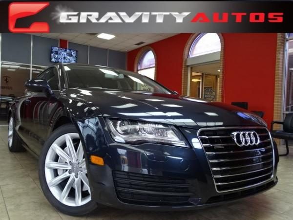 Used 2013 Audi A7 3.0 Premium Plus for sale Sold at Gravity Autos in Roswell GA 30076 1