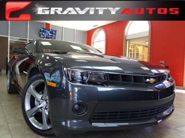 Used 2014 Chevrolet Camaro LT for sale Sold at Gravity Autos in Roswell GA 30076 1