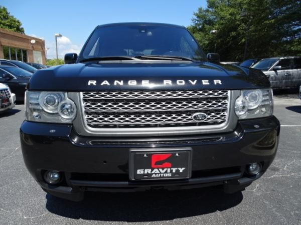 Used 2010 Land Rover Range Rover HSE LUX for sale Sold at Gravity Autos in Roswell GA 30076 2