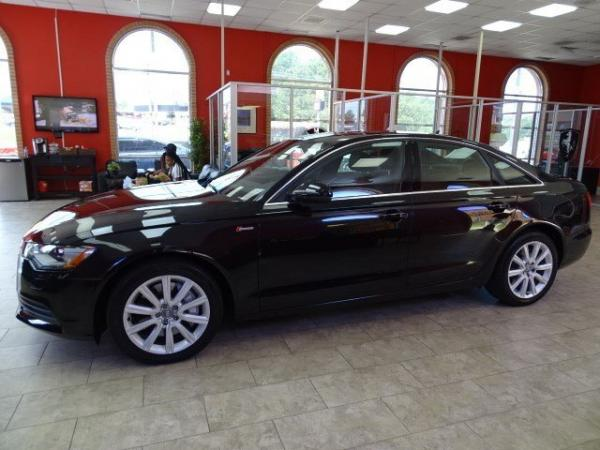Used 2014 Audi A6 3.0T Premium Plus for sale Sold at Gravity Autos in Roswell GA 30076 4