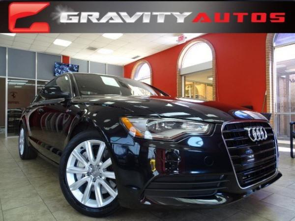 Used 2014 Audi A6 3.0T Premium Plus for sale Sold at Gravity Autos in Roswell GA 30076 1