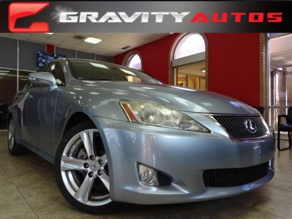 Used 2010 Lexus IS 250 for sale Sold at Gravity Autos in Roswell GA 30076 1